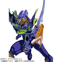 Eva Unit-01 from Evangelion ANIMA